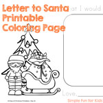 Letter to Santa Full Printable
