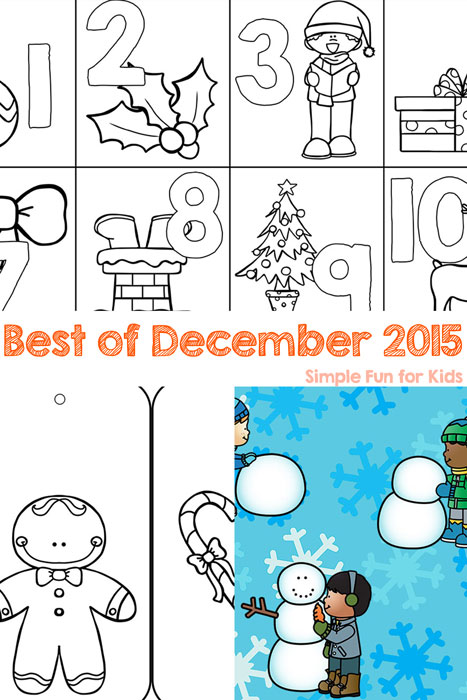 Check out the best new posts of December 2015 on Simple Fun for Kids!