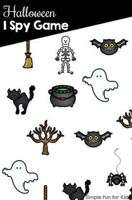 Halloween I Spy Game