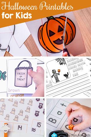 Halloween Printables for Kids