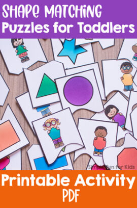 Shape Matching Puzzles for Toddlers