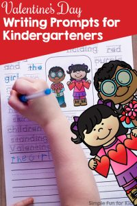 These are so cute! Differentiated printable Valentine's Day Writing Prompts for Kindergarteners with four different levels of support for beginning writers. No-prep, and the pdf file is editable so you can use your own words!
