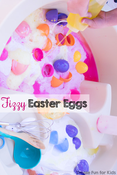 Fizzy Easter Eggs