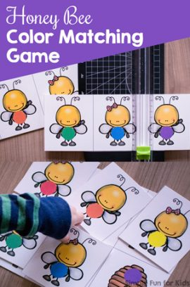 Honey Bee Color Matching Game