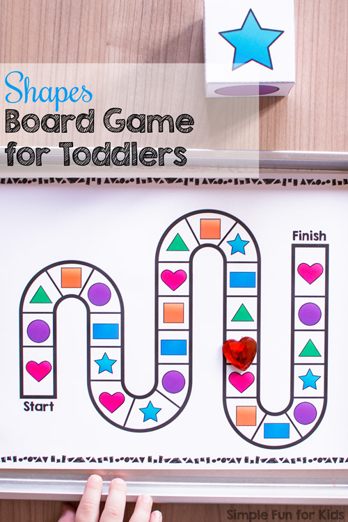 photo about Printable Shapes for Toddlers identified as Designs Board Activity for Babies - Uncomplicated Enjoyment for Small children