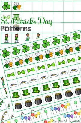St. Patrick's Day Patterns Printable