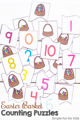 Easter Basket Counting Puzzles