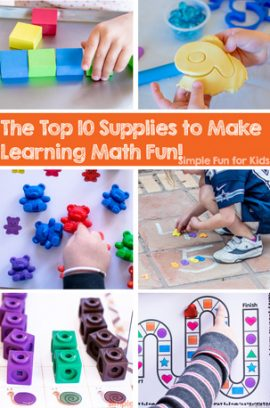 The Top 10 Supplies to Make Learning Math Fun!