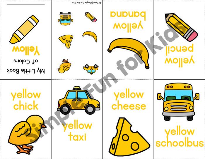 I Know My Colors! Mini Folding Books Bundle - Simple Fun for Kids