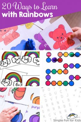 20 Ways to Learn with Rainbows