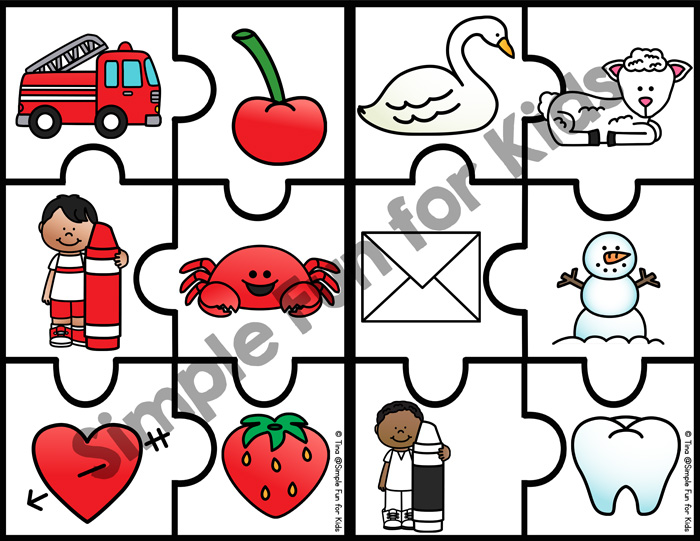 Does your toddler or preschooler love puzzles like mine does? These cute, printable 6-Piece Color Matching Puzzles provide a nice challenge for little puzzle masters while they're working on identifying and sorting basic colors.
