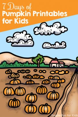 7 Days of Pumpkin Printables for Kids