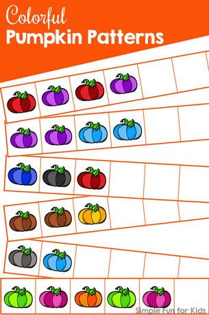 Colorful Pumpkin Patterns