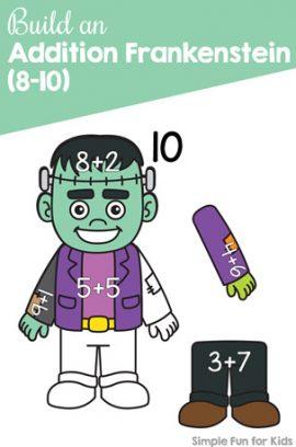 Build an Addition Frankenstein (8-10)