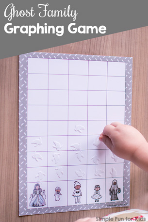Ghost Family Graphing Game Printable