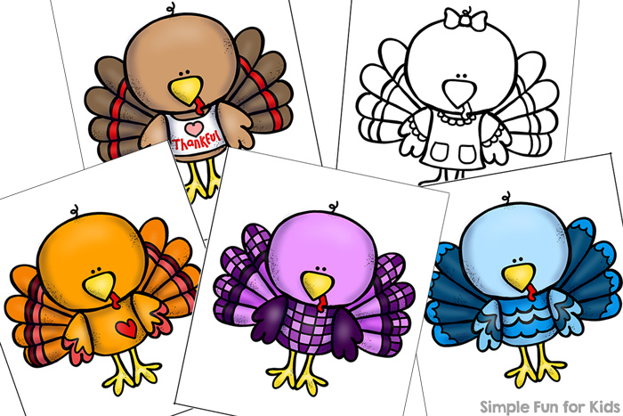 picture regarding Printable Turkeys Pictures identify Quirky Turkey Matching Sport for Infants Printable - Easy
