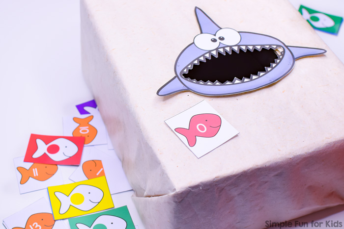 Is your toddler or preschooler interested in learning his or her colors, numbers, letters, or sizes? This cute Feed the Shark Toddler and Preschool Bundle covers all of these learning objectives in a fun, hands-on way that little kids love! Includes labels for easy storage and task cards for suggested activities.