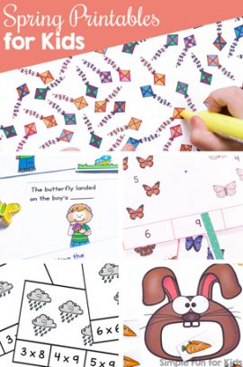 Spring Printables for Kids