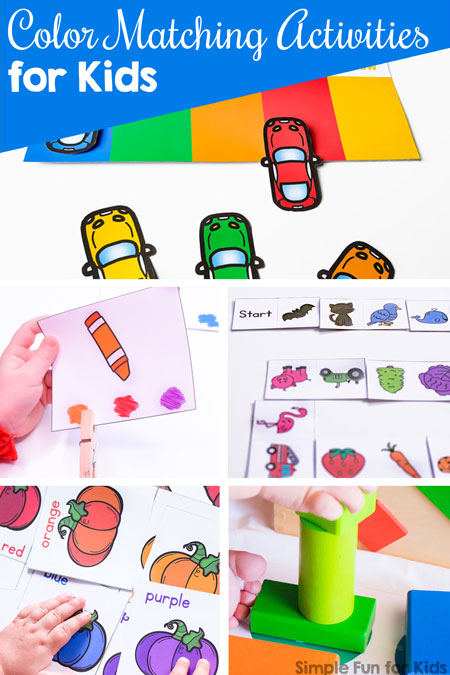 Color Matching Activities for Kids - Simple Fun for Kids