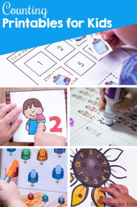 Counting Printables for Kids