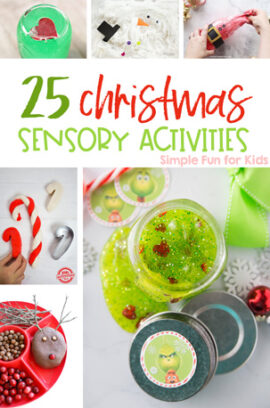 25 Christmas Sensory Activities for Kids