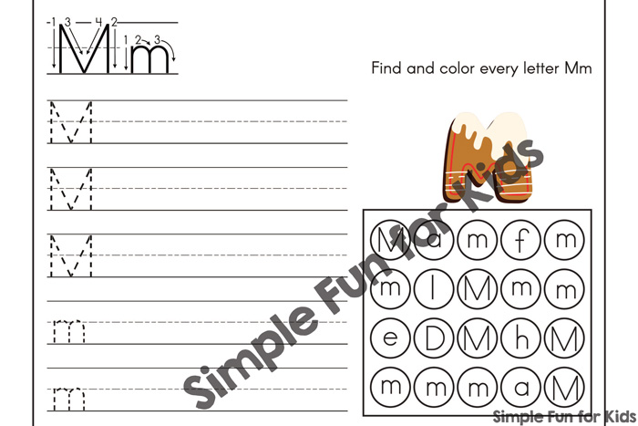 Practice uppercase and lowercase letter recognition, tracing, and matching with this cute Gingerbread ABC Practice Pack. Preschoolers and kindergarteners will love these no-prep literacy activity pages.