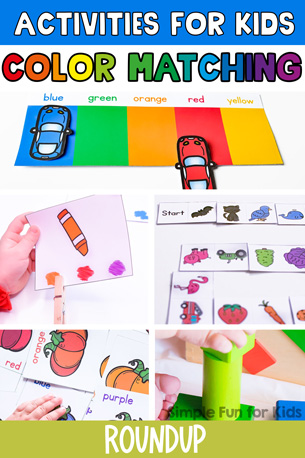 Color Matching Activities for Kids
