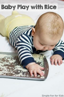 Baby Play with Rice