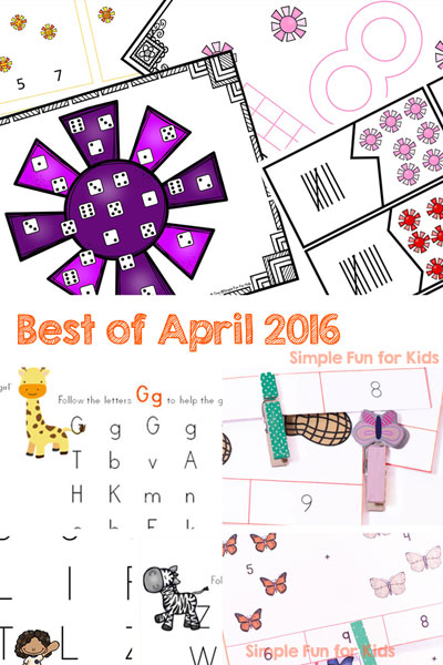 Every month, I list out all of the new posts of the past month, including a special look at the top 3 most popular new posts and my personal favorite! Go and check out the Best of April 2016!