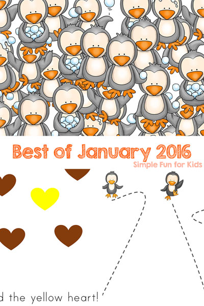 Check out the Best of January 2016 on Simple Fun for Kids! Featuring the top 3 new posts of the month and my personal favorite!