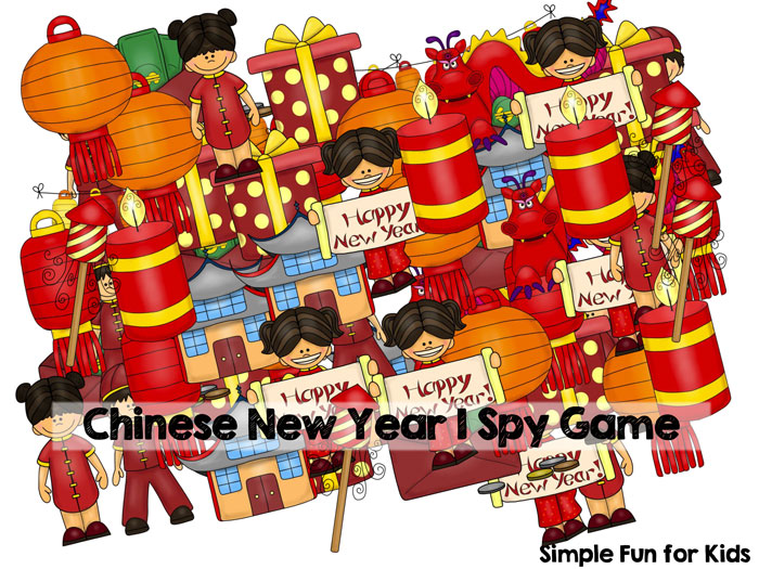 Check out this cute Chinese New Year I Spy Game printable! Great for practicing counting up to 10, 1:1 correspondence, visual discrimination, number recognition, and more! Your preschooler or kindergartner will love it.