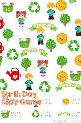 Earth Day I Spy Game
