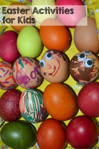 Check out all the Easter activities for kids on Simple Fun for Kids! Perfect for babies, toddlers, preschoolers, and some of them are fun for older kids, too!