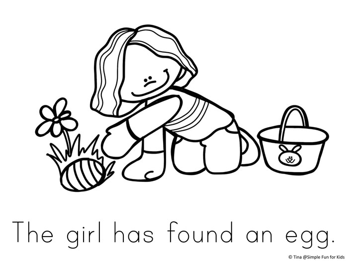 Easter Coloring Pages Simple Fun For Kids