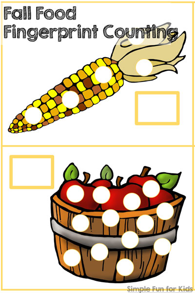 Fall Food Fingerprint Counting