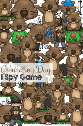 Groundhog Day I Spy Game