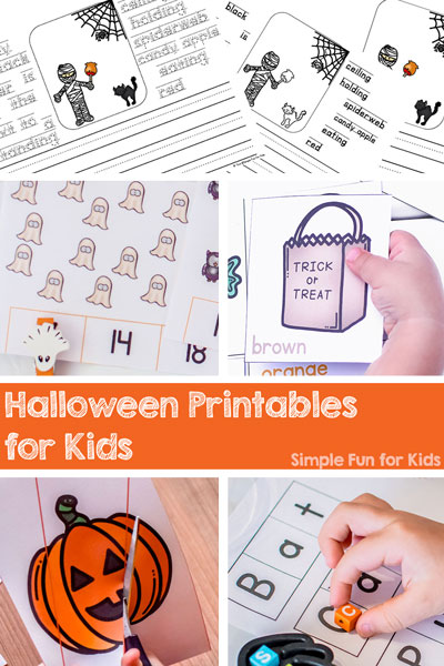 Halloween Printables for Kids - Simple Fun for Kids