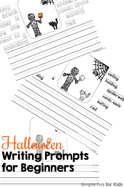 Halloween Writing Prompts for Beginners