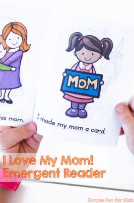 I Love My Mom! Emergent Reader
