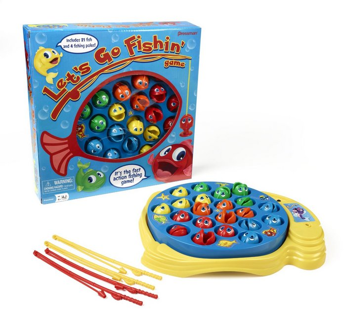 Let's Go Fishing is a fun hand-eye coordination game for young kids. Check out my gift guide of the 10 best board games for preschoolers and kindergarteners!