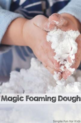 Magic Foaming Dough