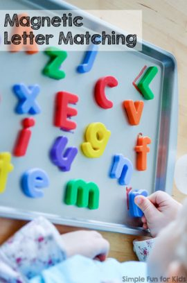Magnetic Letter Matching