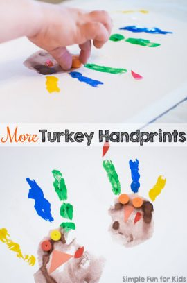 More Turkey Handprints