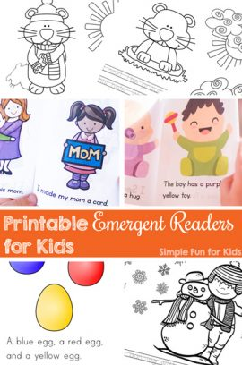 Printable Emergent Readers for Kids