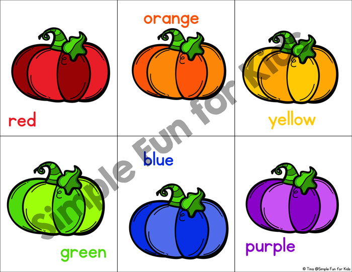 Rainbow Pumpkin Color Matching Game Simple Fun for Kids
