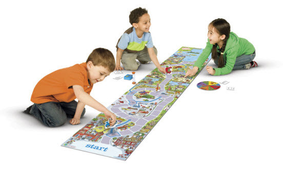 Richard Scarry's Busytown made our top 10 best board games for preschoolers and kindergarteners! Huge gameboard, a ton of details, cooperative game play for kids of multiple ages - we love it!