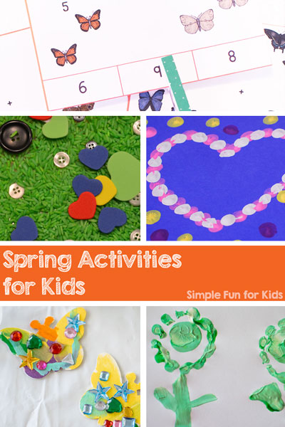 Are you looking for fun spring activities for kids? Check out these awesome ideas at Simple Fun for Kids!
