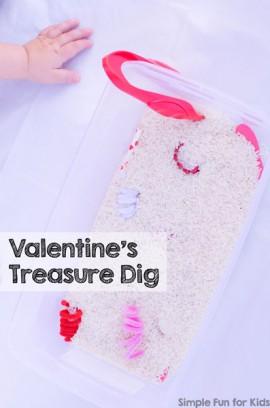 Valentine's Treasure Dig